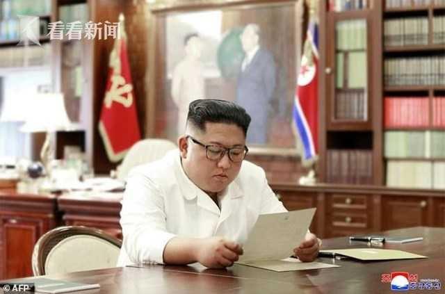 金正恩射弹奏效 特朗普致函求和?朝媒报道耐寻味