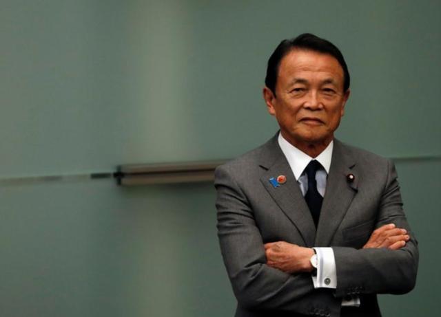 """日本前首相麻生太郎的不屑脸:你们欧洲也得了""""黄种人""""病?"""