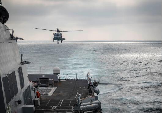 今年第三次 美国军舰又过台湾海峡