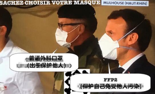 马克龙终于也戴上口罩,法国卫生部长:已经太晚了