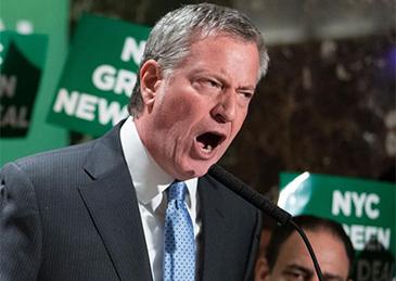 """纽约市长:别信特朗普""""复活节前复工""""这虚幻的希望"""
