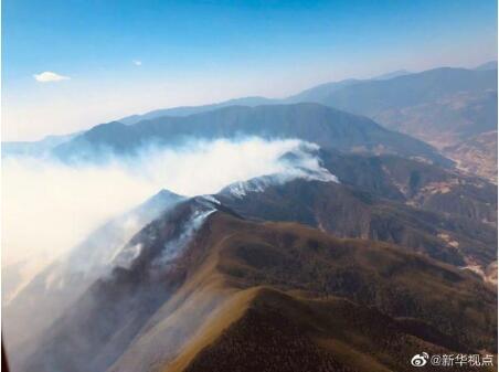 西昌山火救援中19人牺牲,紧急疏散周边群众1200余人
