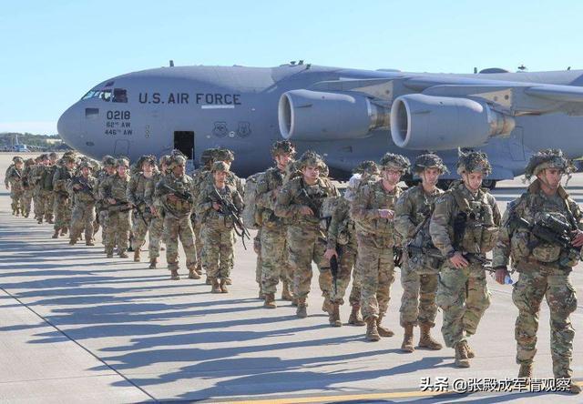 波斯湾美军完成集结 百架战机严阵以待 俄:人算不如天算
