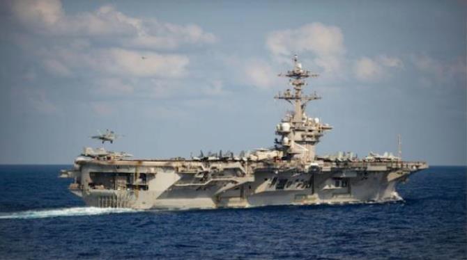 """美国""""罗斯福""""号航母舰长遭解职细节曝光 背后阴谋被挖出"""
