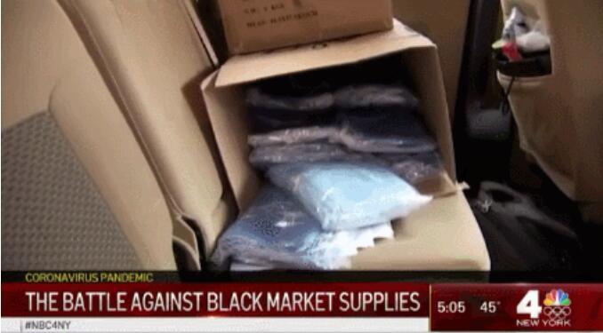 防疫物资紧缺,美国医生不得不从黑市上购买口罩防护服