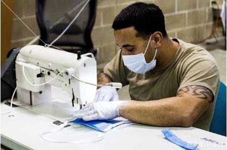 美军用3D打印自制N95口罩 造4个口罩需要45小时