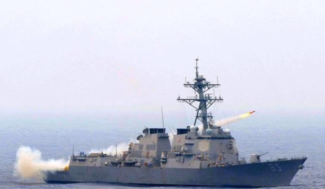 死到临头不忘挑衅中国!美国军舰威海80千米外现身