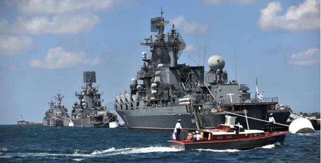 俄军四大舰队聚集,战舰突进地中海,一场新的战役即将打响?