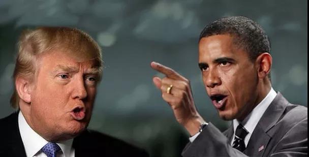 """特朗普一骂再骂 奥巴马忍无可忍 两任总统""""打架"""" 全因为另一个男人?"""