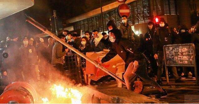 香港五大纪律部队密集发声 黑暴卷土重来 香港警方拘捕180人
