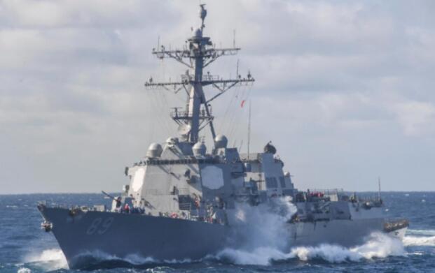 美军舰再闯西沙遭驱离 我军回应:做贼必心虚,不惯着