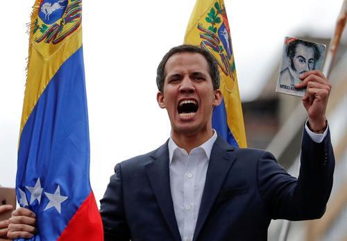 """特朗普对委内瑞拉""""自立总统""""冷眼相待 瓜伊多的戏该结束了"""