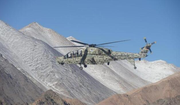 武直-10对手又来一个?印度LCH直升机量产,高原能力不容小觑