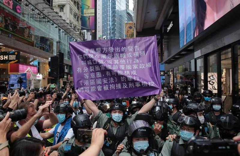 香港国安法生效,有人还想垂死一博