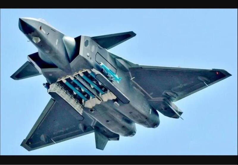 歼-20鸭翼隐身性能差,动力不足无法超巡?其实是真正的空战之王