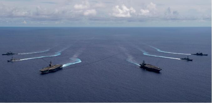 美澳日在南海举行军演 日媒直言:此举必将激怒中国!