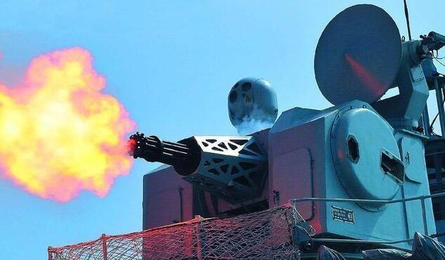 中美俄近防炮:中国1130系统射速1万发穿甲弹拦截超音速导弹
