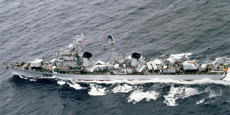 17艘舰 扛线50年 逼退2万吨大船!中国海军首次大驱计划