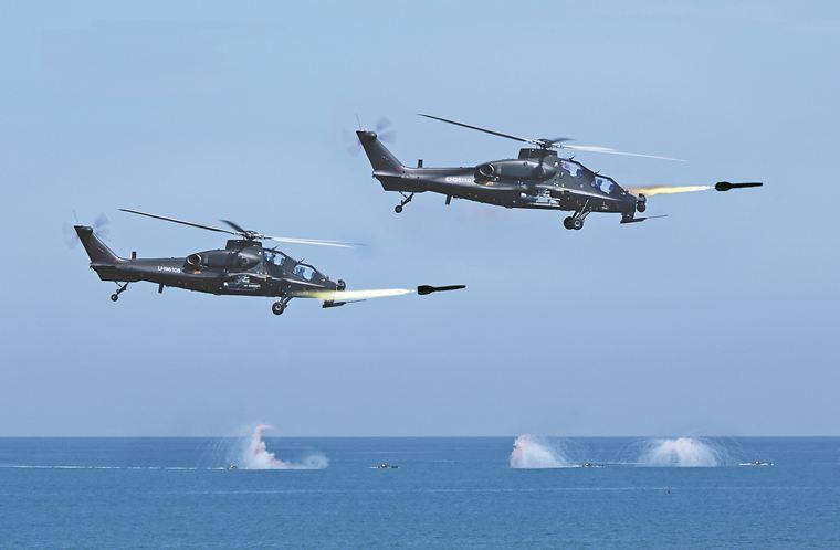 如虎添翼!我国某直升机机载新型空地导弹试射成功