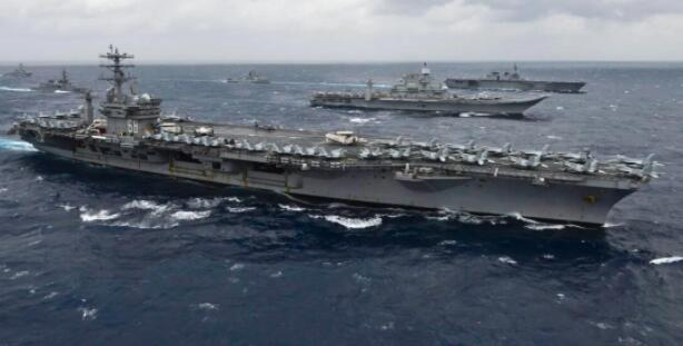 美航母与印军联合军演 印媒:对中国发出最强示威信号!