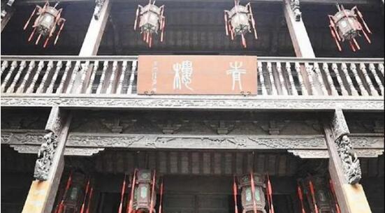 古代青楼门前挂着一对联,所写内容太令人羞于启齿!