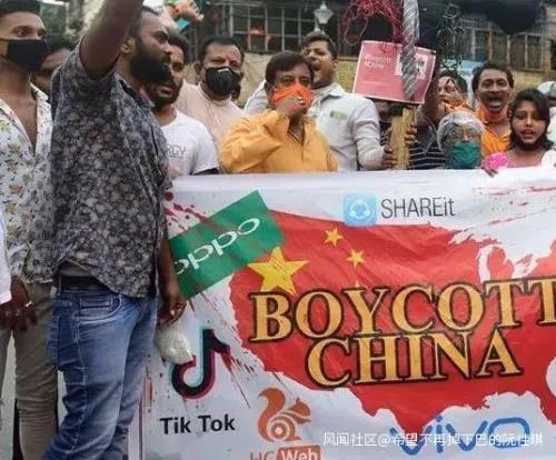 印度反华游行惊现大乌龙,美国要气死了