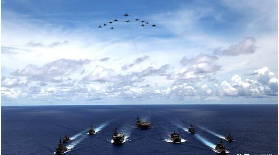 美再次发起挑战,保持南海军事存在,五角大楼威胁:无人能挡