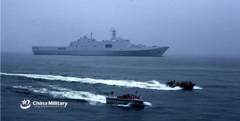 """台媒称075两栖攻击舰即将服役,将""""挑战""""台湾防御系统"""