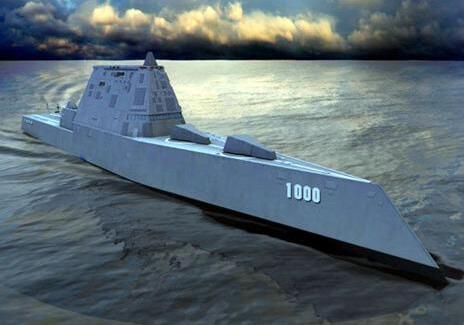 美国44亿造的战舰,黑科技满满却跑偏,给了我国战舰发展机会