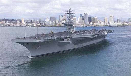 又一艘美国航母出现新冠疫情 美军拒绝透露感染人数