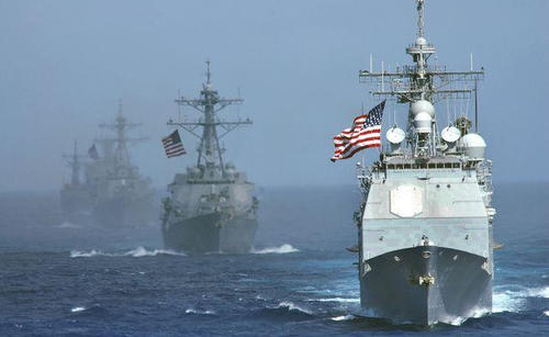 美双航母挺进亚太,我军用行动回应:触碰红线后果自负