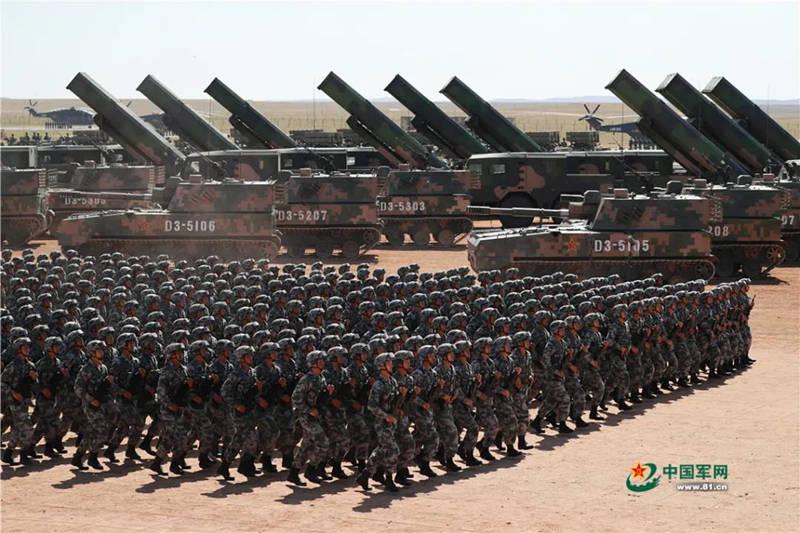 帝国主义亡我之心不死!建军93周年的人民军队面对多少豺狼虎豹?