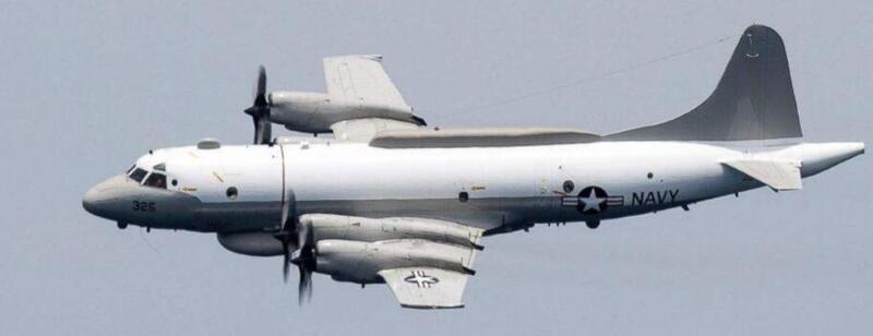 危险!美军机无视警告,再次飞抵广东海岸100公里处
