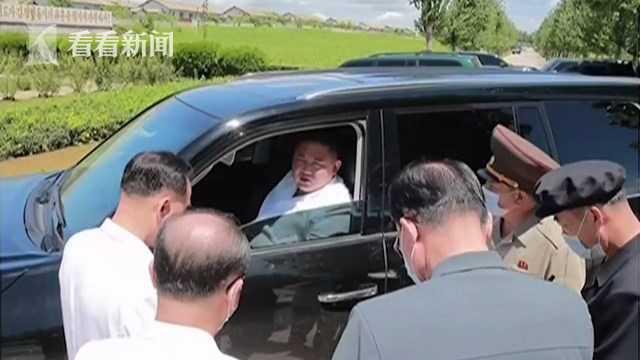 金正恩罕见亲驾SUV奔赴灾区 朝媒曝车型引关注