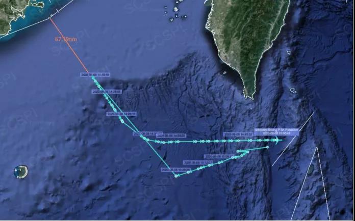 """敏感时刻,""""里根""""号航母溜进东海被卫星""""活捉"""""""