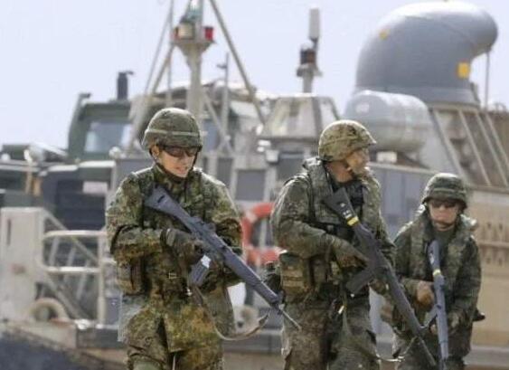 """自卫队拟建电子战部队,可配合""""水陆机动团""""参与夺岛作战"""