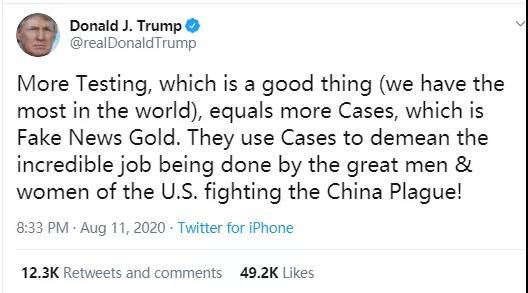 """刚刚,""""中国瘟疫""""突然登上美国""""热搜""""榜"""