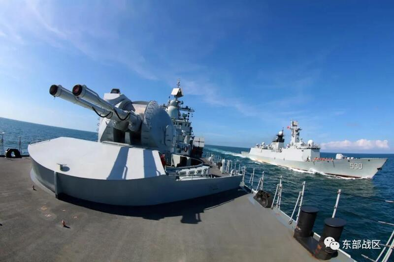 全程高能!中国现代级升级改装后出海训练画面超燃