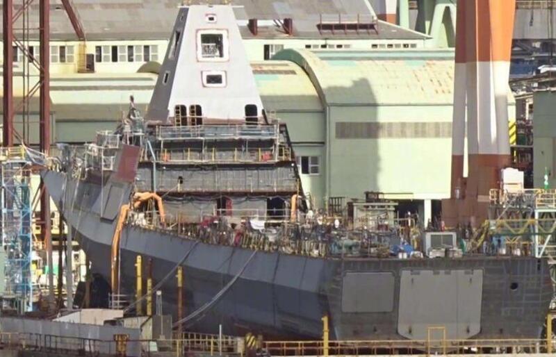 日本新护卫舰将下水 美媒:终于可以着手对付中国了!