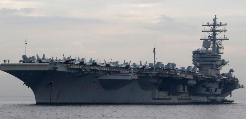 诡异!美航母做出罕见举动 进入印度洋后马上掉头回南海
