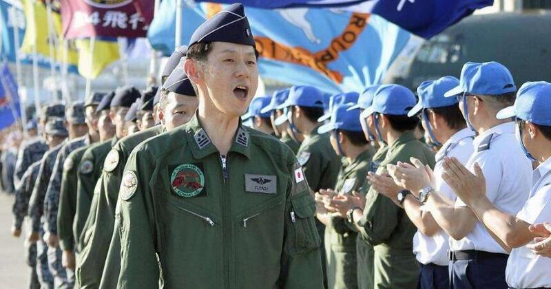 日本自卫队演练海外撤侨 动用军用运输机送侨民回国