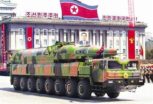 金正恩提及阅兵神秘导弹:是朝鲜核打击的一张王牌