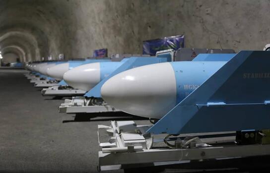 伊朗地下军火库曝光 大批导弹都有中国血统!