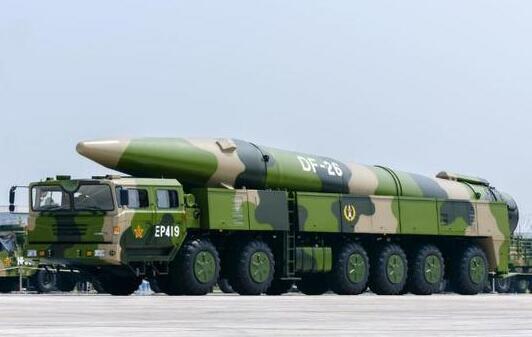 美媒直言:中国新型导弹或威胁美航母的世界霸主地位
