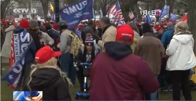 美媒:国会骚乱受人指使 而且对内部了如指掌!