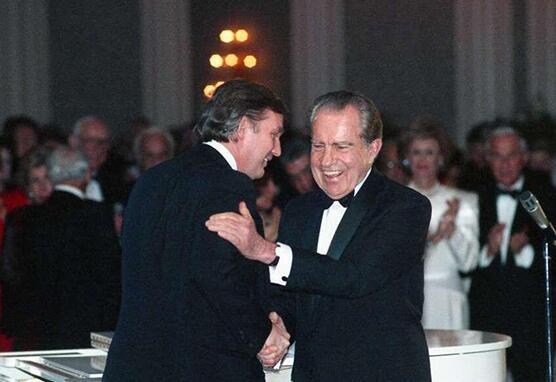 特朗普禁止幕僚提及辞职的前总统尼克松