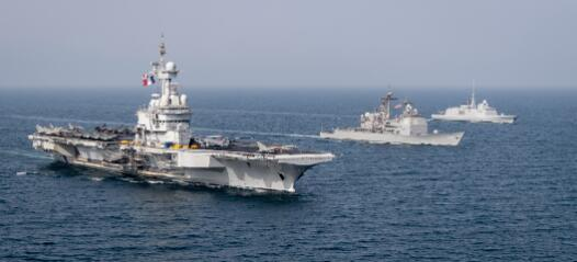 直指伊朗 四国在阿拉伯海进行海上联合演习!