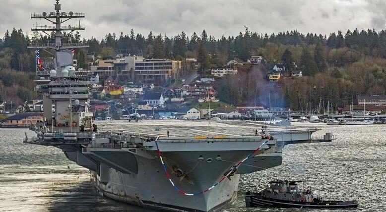 美航母水兵因疫情被困舰上一年 曾来南海巡航!