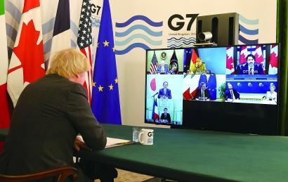 G7会议开始前英国对华放狠话 会后竟只字不提!