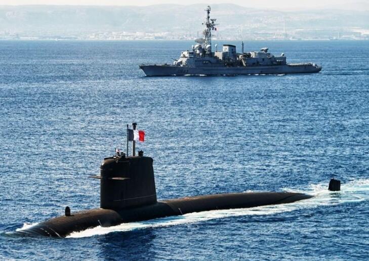 法国核潜艇近期曾在东海与南海出没疑先通知台湾